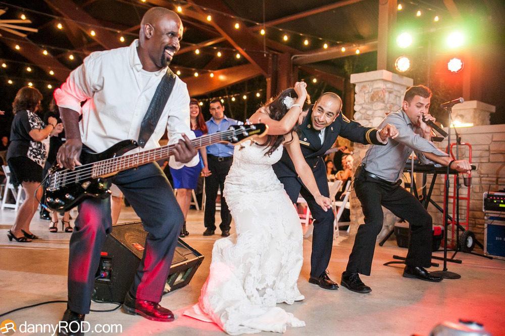 The Veranda Band at Wedding
