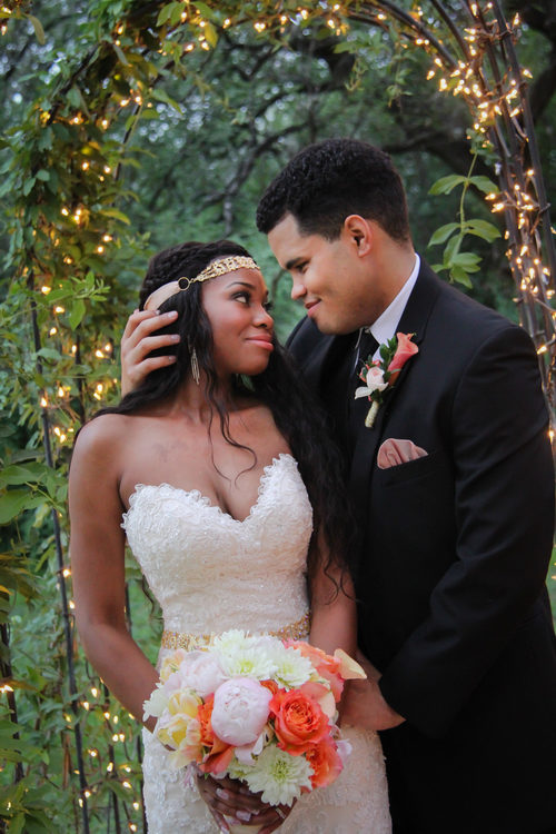 The Veranda Bride and Groom