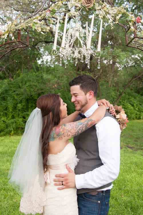 The Veranda Wedding Couple