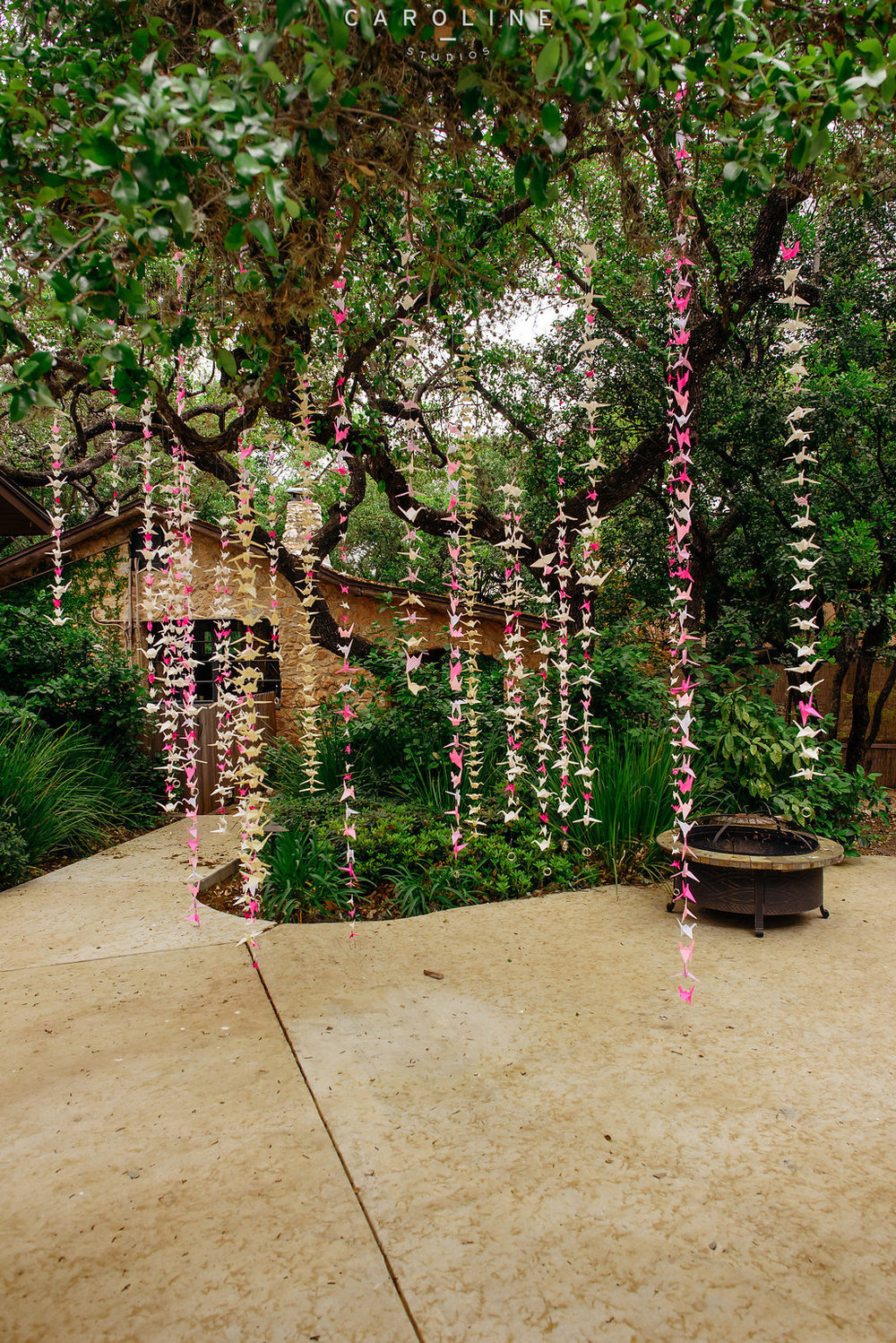 The Veranda Outside with Decorations
